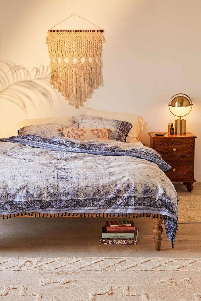Akimra Worn Carpet Duvet Cover