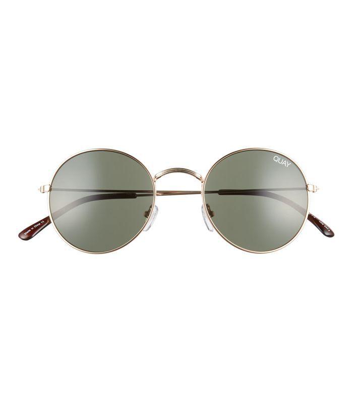 50Mm Mod Star Round Sunglasses -