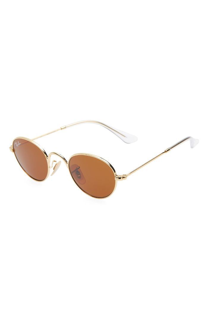 Ray-Ban Lennon Junior 40Mm Round Sunglasses