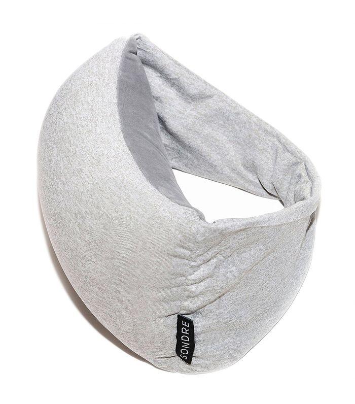 Brown Bear Zip & Flip Travel Pillow