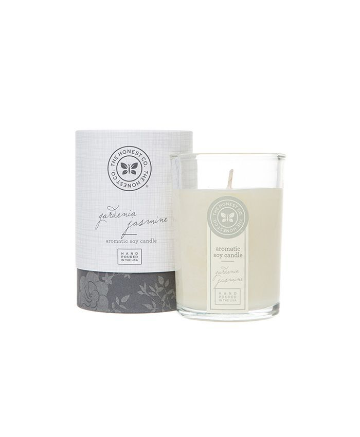 The Honest Company Gardenia Jasmine Aromatic Soy Candle