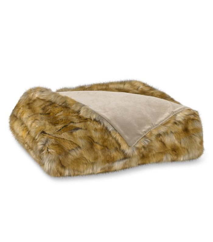 Williams Sonoma Faux Fur Blanket