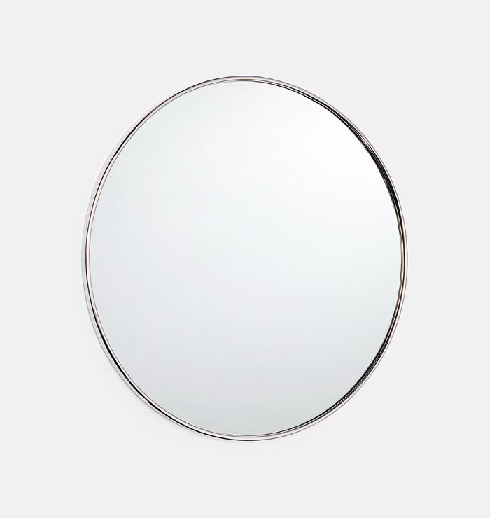 Rejuvenation Round Metal-Framed Mirror