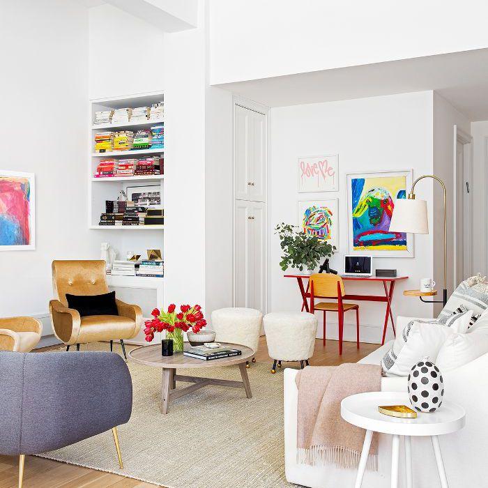 Modern Manhattan living room