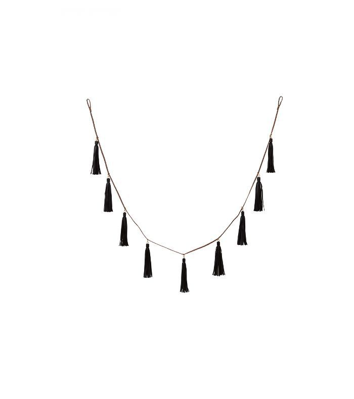 Nate Berkus for Target Leather Tassel Garland