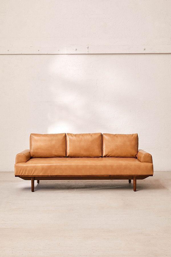 Sabrina Recycled Leather Sofa