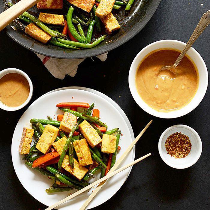 Salteado de tofu clásico