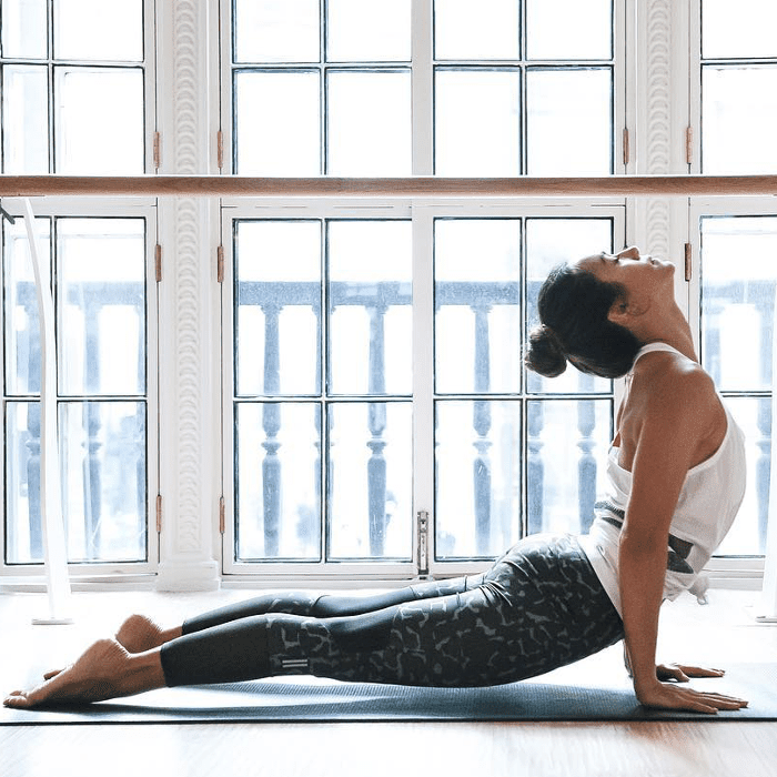 This Easy Yoga Routine Burns More Calories Than a 20-Minute Jog