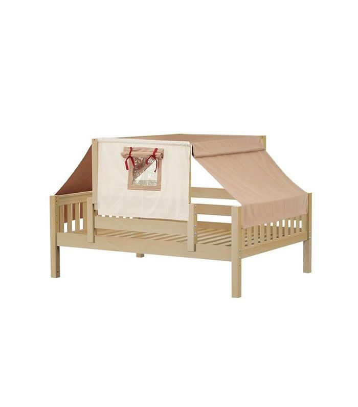 Maxtrix Kids Twin Toddler Bed with Tent
