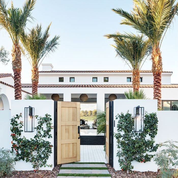 Inside a Modern Family Home in La Quinta, California