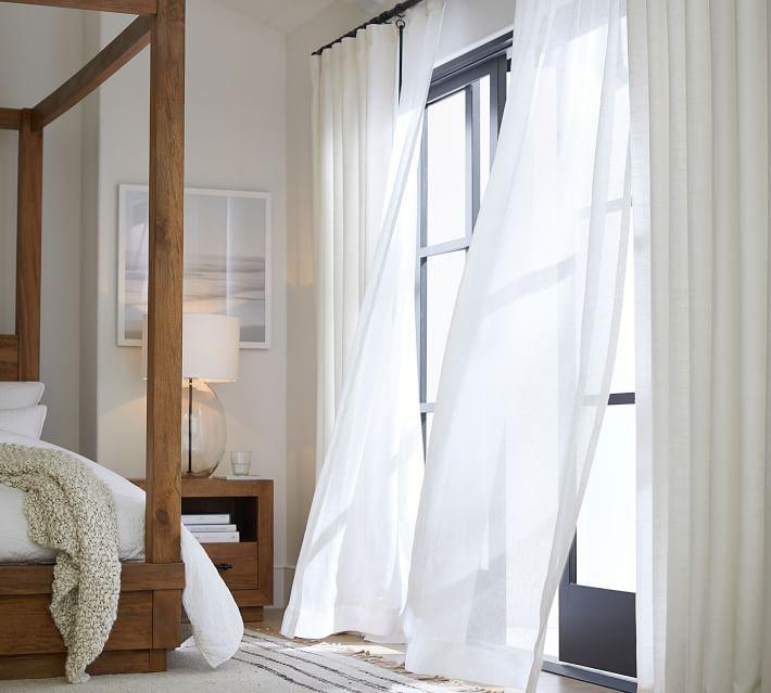 Emery Linen/Cotton Rod Pocket Curtain