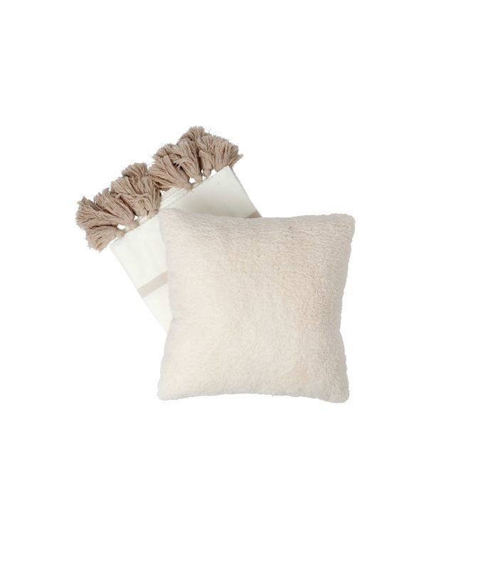 Faux Shearling Decorative Pillow Nate Berkus for Target