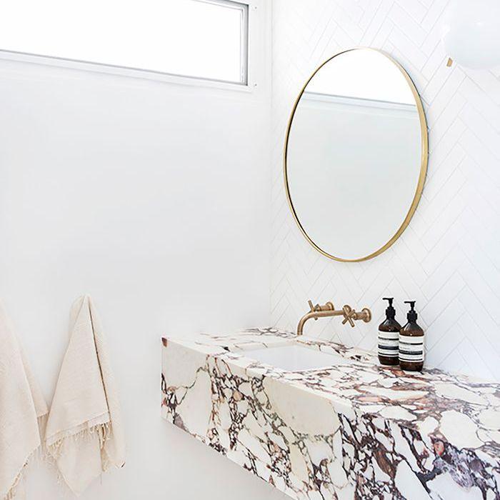 Best Bathroom Trends of the Year — Wall-Mounted Vanities