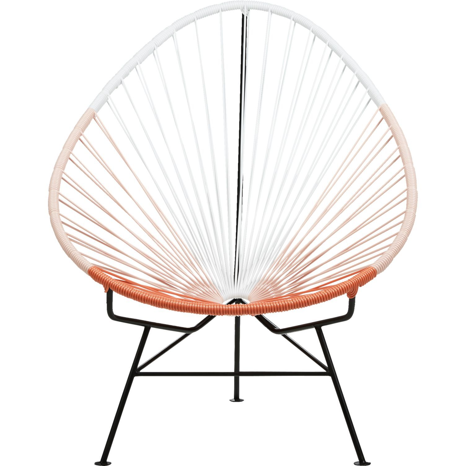 CB2 Acapulco Pink Egg Outdoor Chair