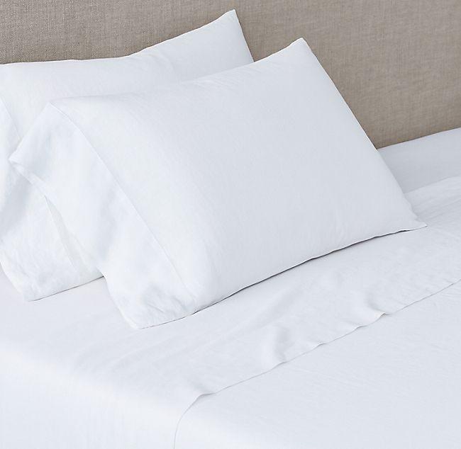 Italian Ultra-Fine Lightweight Linen Sheet Set