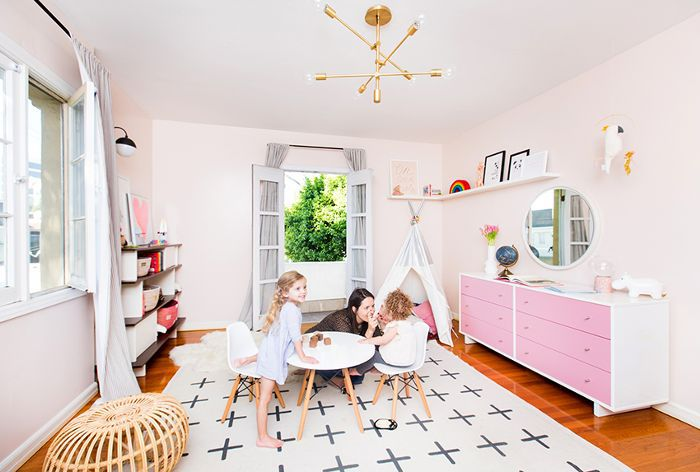 Kimberly and Adam Weinstein's dreamy nursery