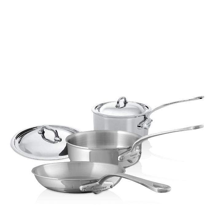 M'Cook Stainless Steel 5-Piece Cookware Set