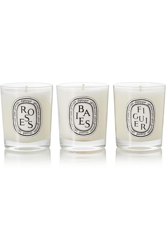 Set Of Three Scented Candles
