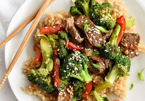 Beef With Broccoli—Ground Beef Recipes