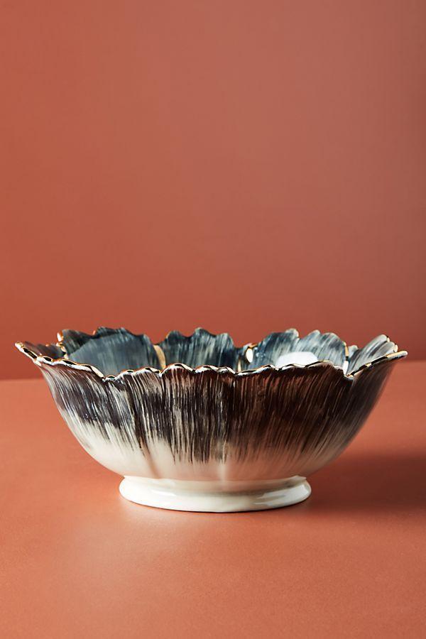 Papetal Floral Serving Bowl
