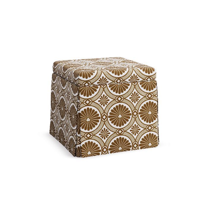 The Inside x SF Girl by Bay Skirted Storage Ottoman
