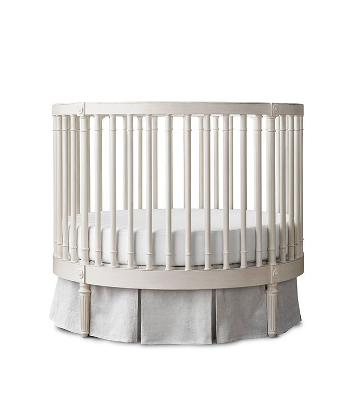 RH Baby & Child Ellery Round Crib & Mattress