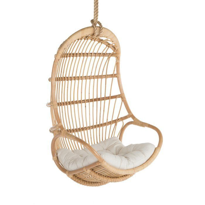 Greyleigh Briaroaks Hanging Rattan Swing Chair