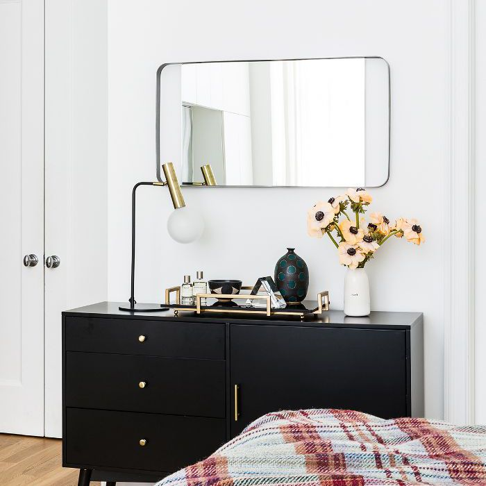 Chic bedroom storage solutions