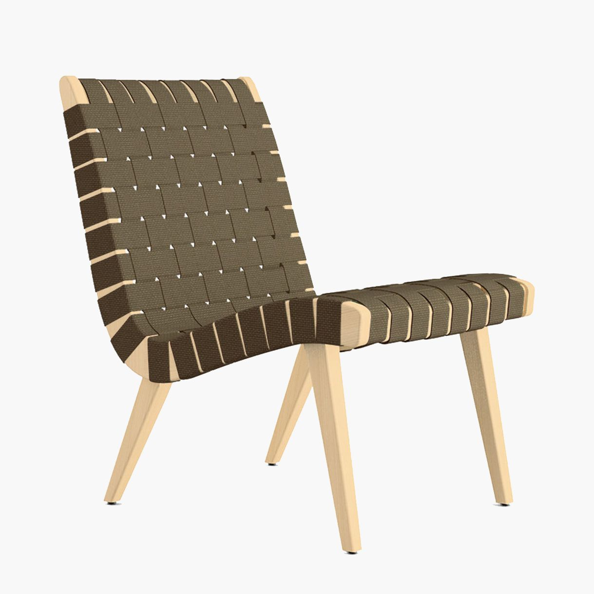 A modern lounge chair, currently for sale at Design Within Reach