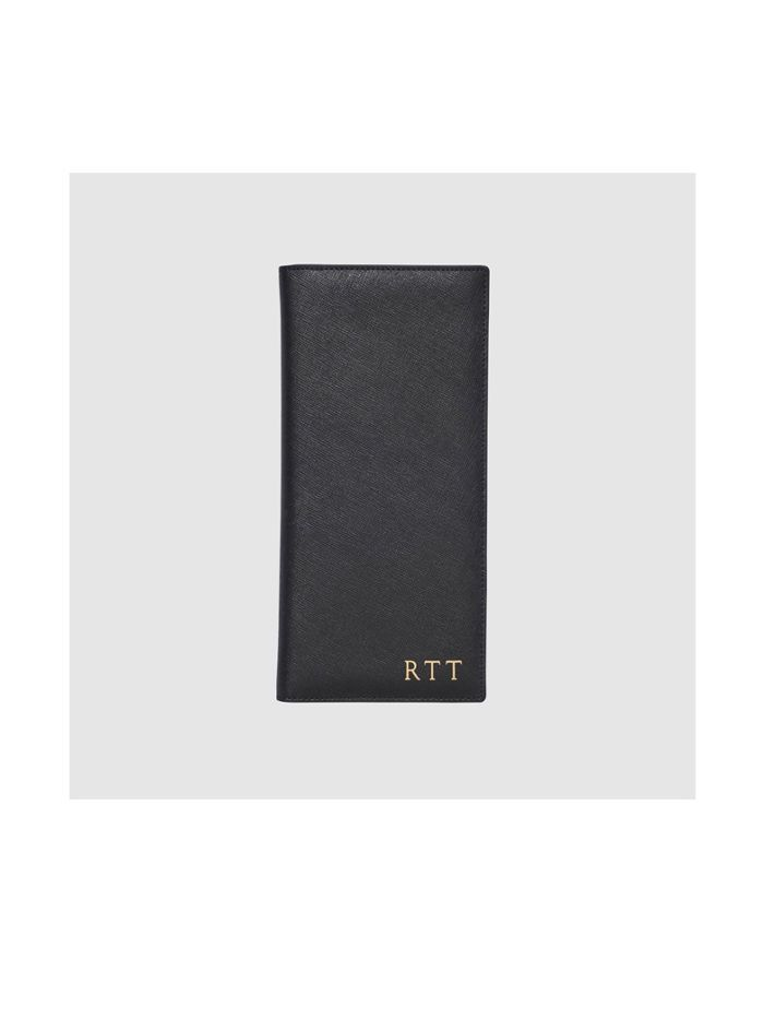 The Daily Edited Black Travel Wallet