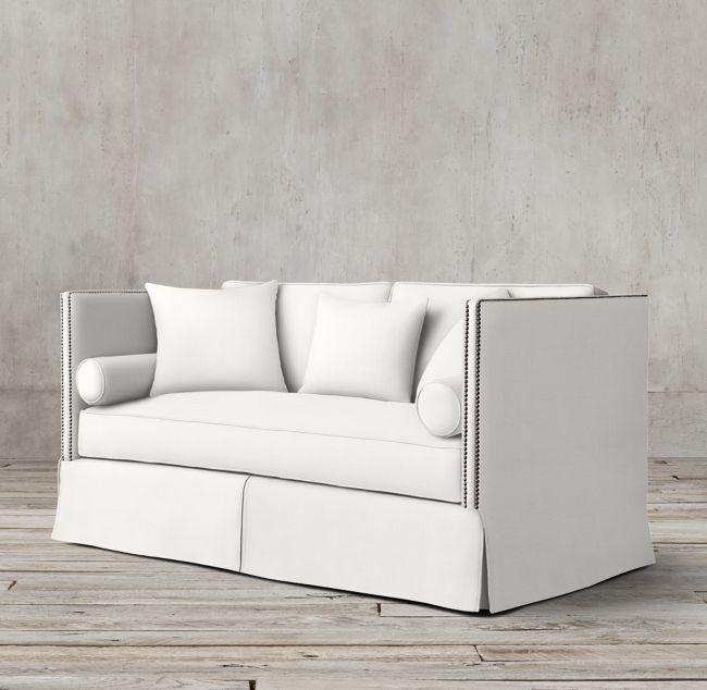 Ellsworth Neutral Tufted Sofa
