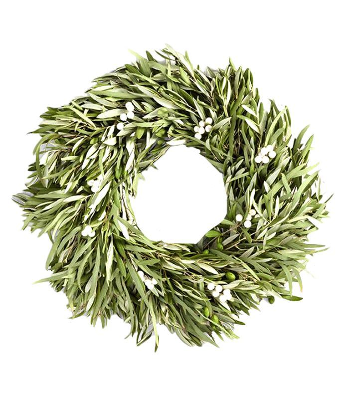 Olive Eucalyptus and Berries Wreath by World Market