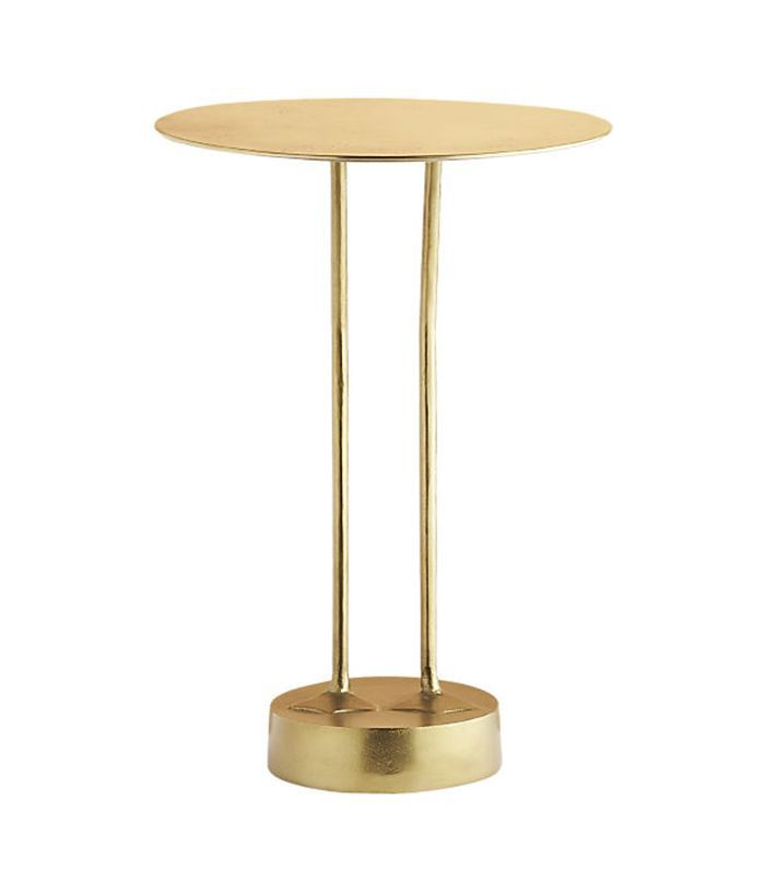 Brass Bird Side Table