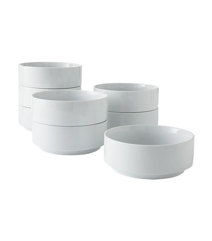 set of 8 ledge soup bowls