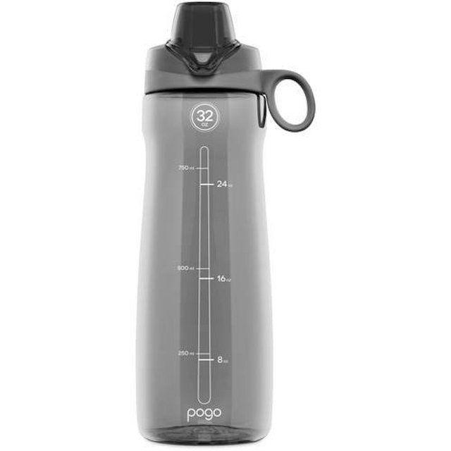 Pogo BPA-Free Plastic Water Bottle with Chug Lid