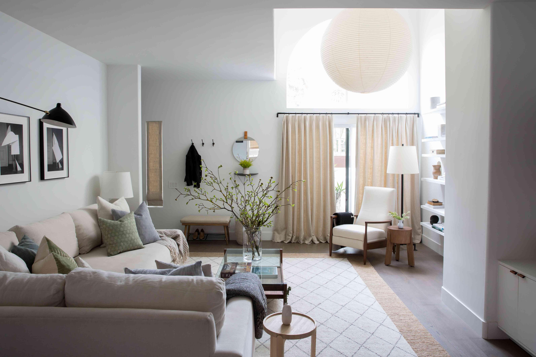 Moderna sala blanca