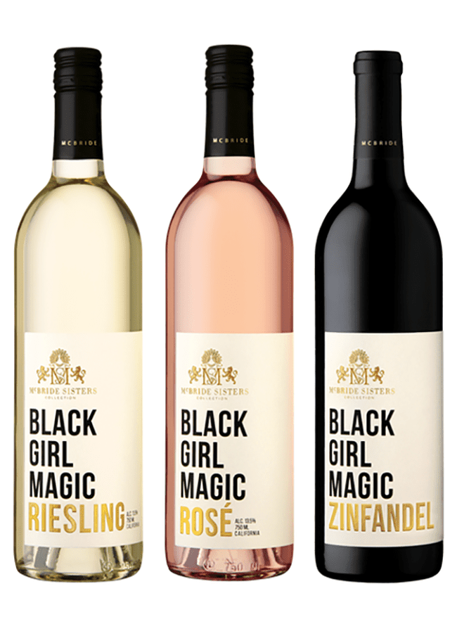 Black Girl Magic Wine Trio