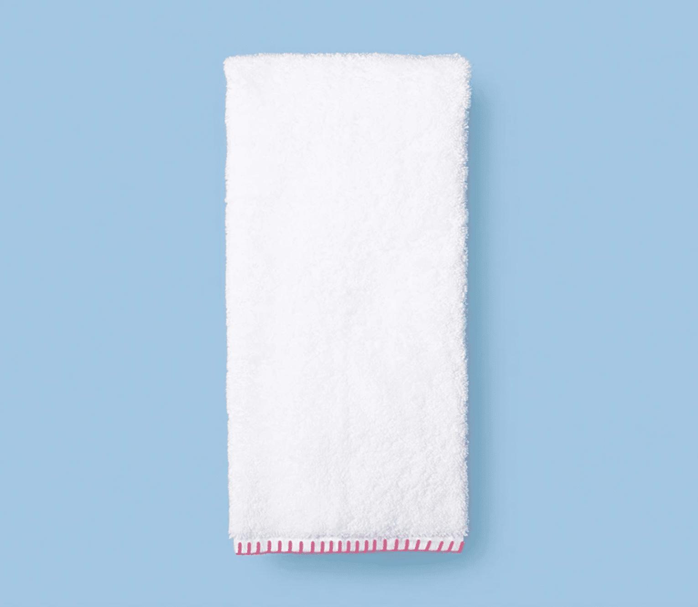 toalla cosida