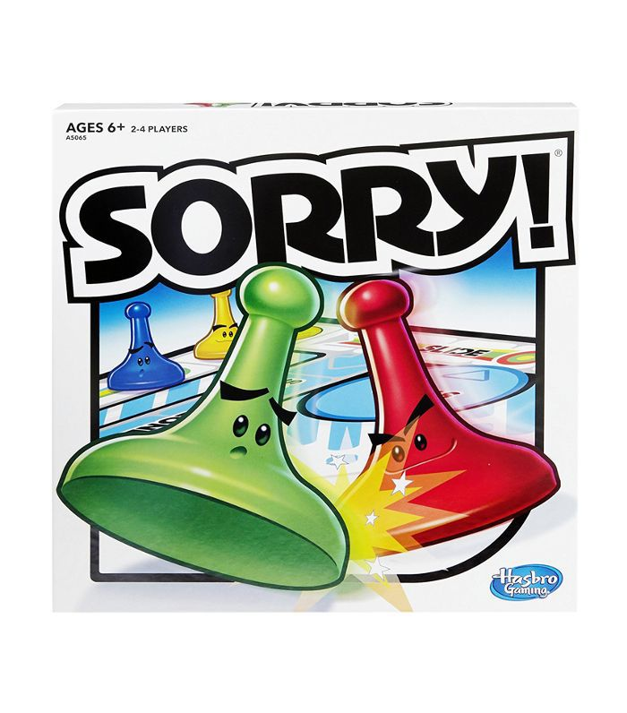 Hasbro Sorry! Game Fun Things to Do at a Party