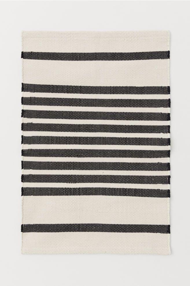 H&M Striped Bath Mat