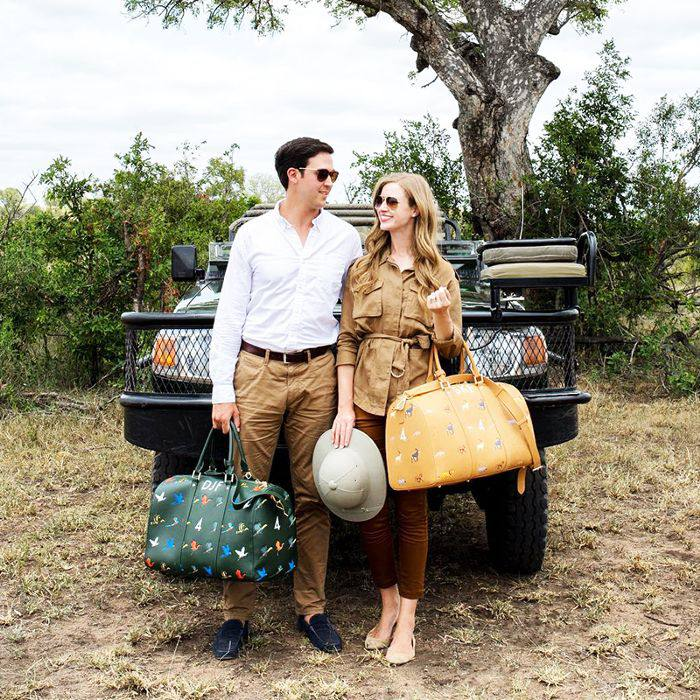 Stacie Flinner—Travel duffel bags