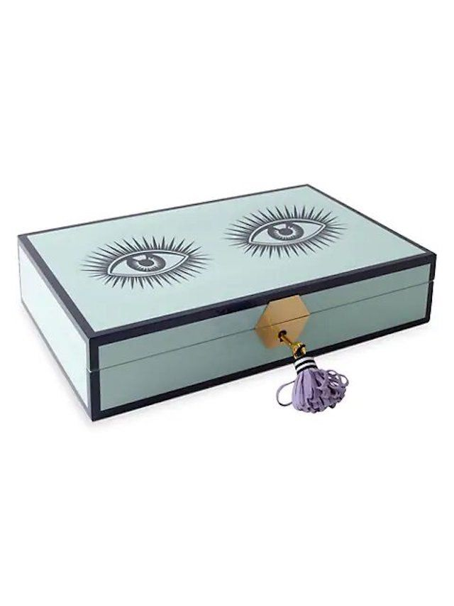 Jonathan Adler Le Wink Lacquer Jewelry Box