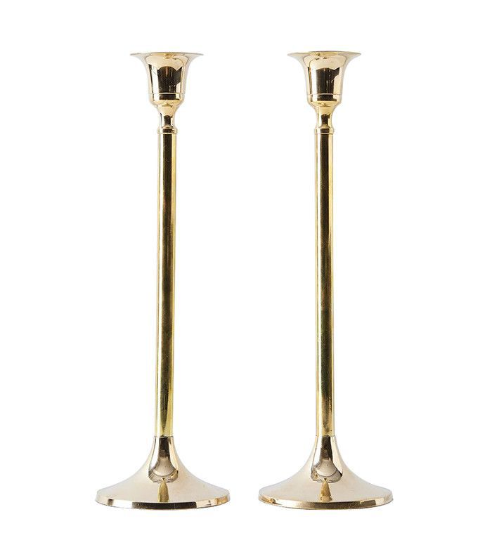 Food52 Vintage-inspired Brass Candlesticks