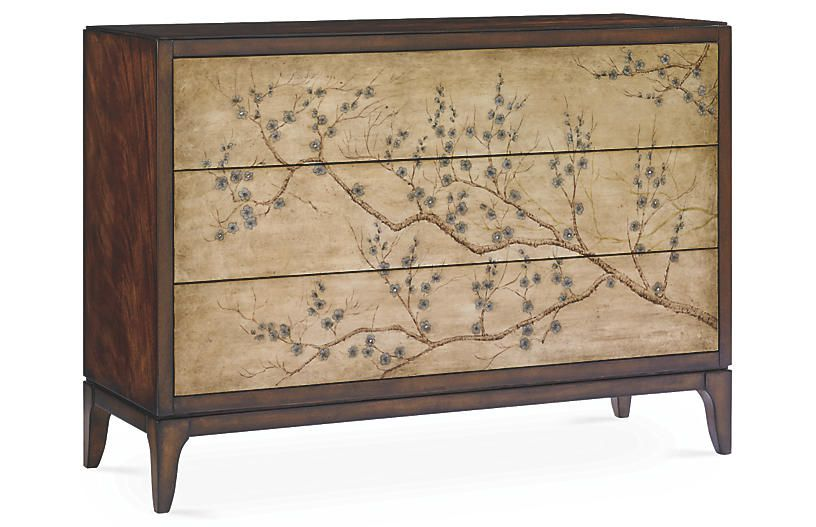One Kings Lane Blossom Chinoiserie Dresser