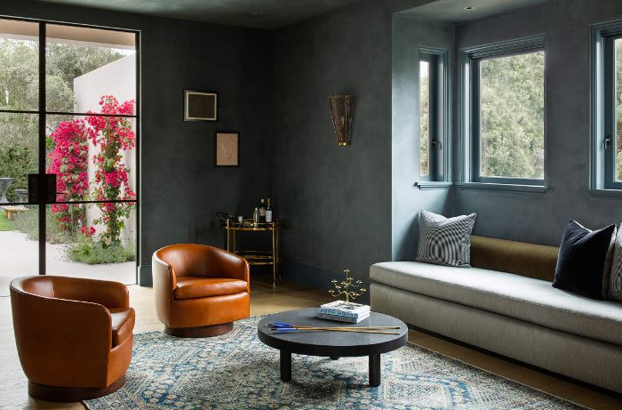 Blue Living Room Paint Color
