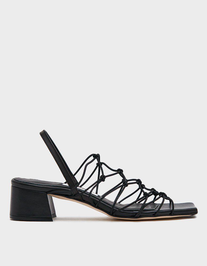 Frida Slingback Heel in Black