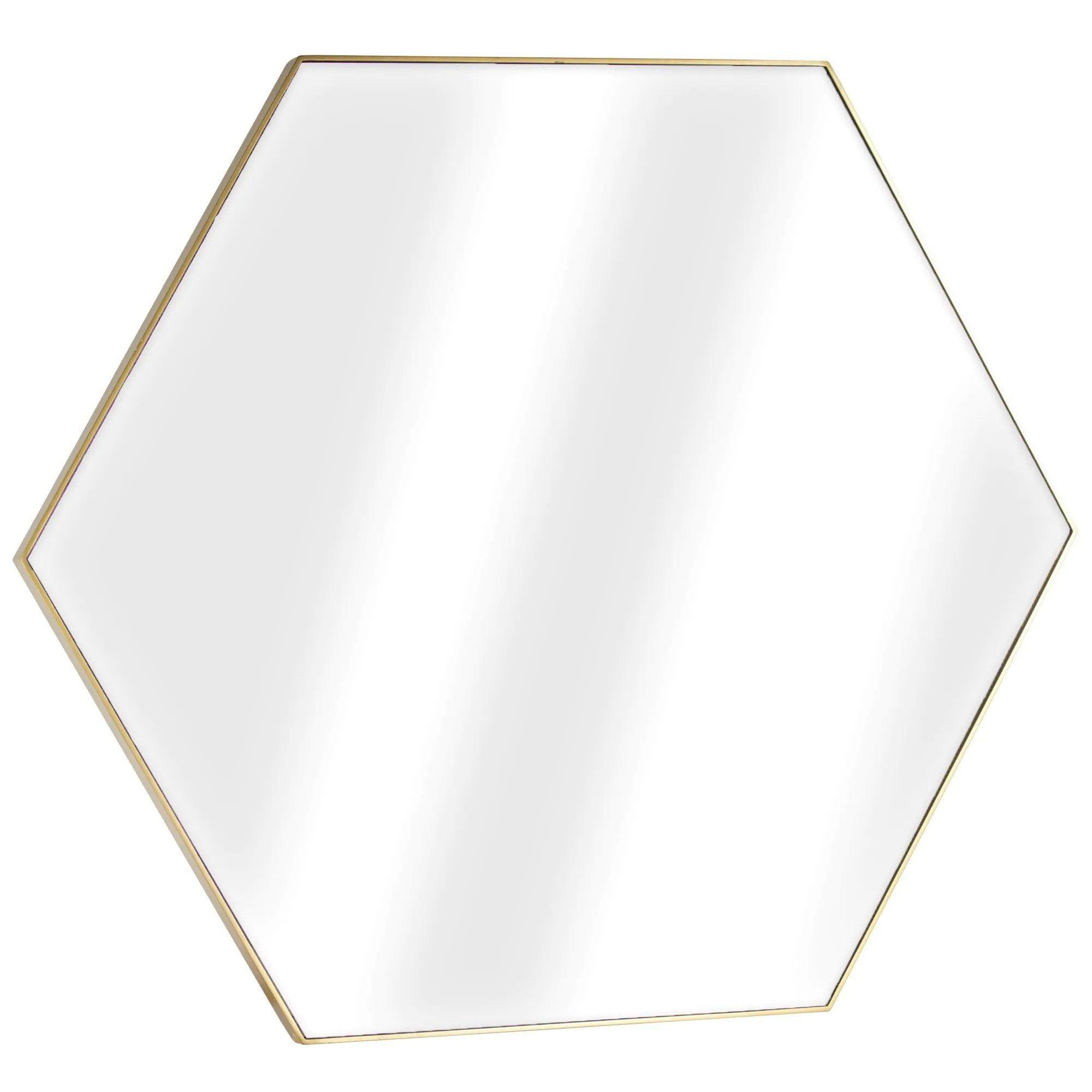 Hexagon Mirror—Entryway