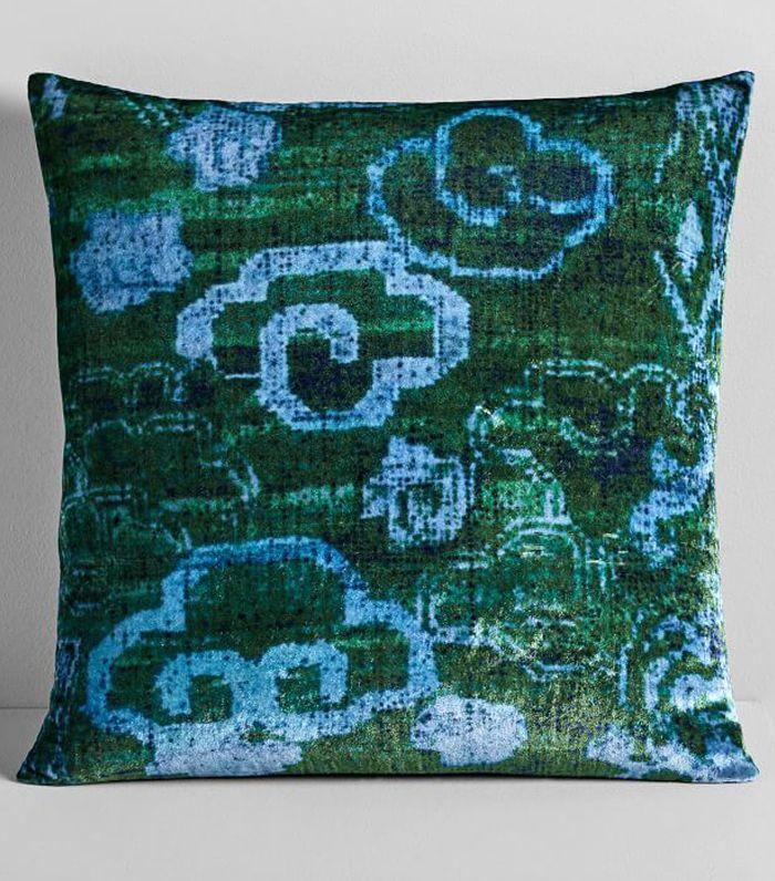 West Elm Lush Velvet Chinoiserie Pillow Covers