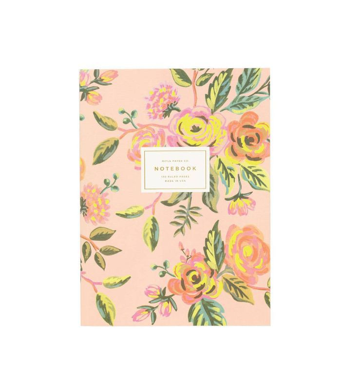 'Jardin De Paris' Ruled Notebook -