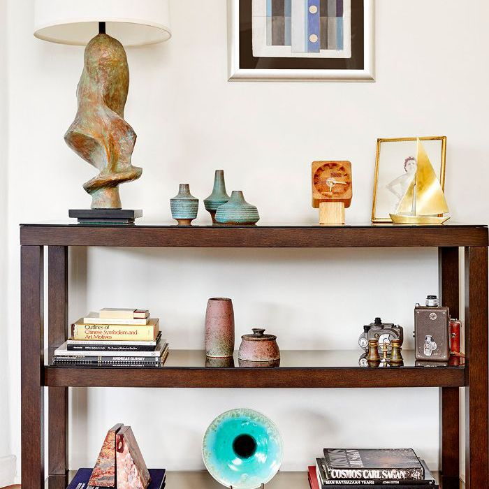 Colección de accesorios de mediados de siglo